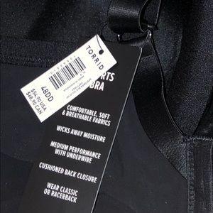 torrid Intimates & Sleepwear - Torrid Black Sports Bra size 48DD